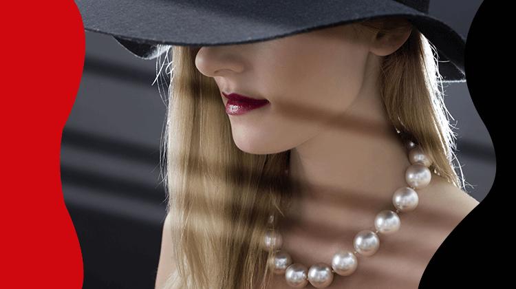 Fashion trends- Perlen gelten als Luxusaccessoire und können zu jeder Tageszeit getragen werden