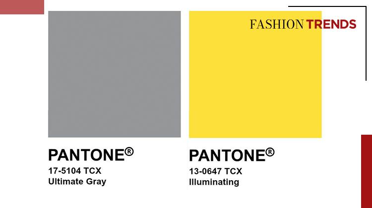 Fashion Trends DE - Leuchtendes Gelb und Ultimatives Grau -Banner