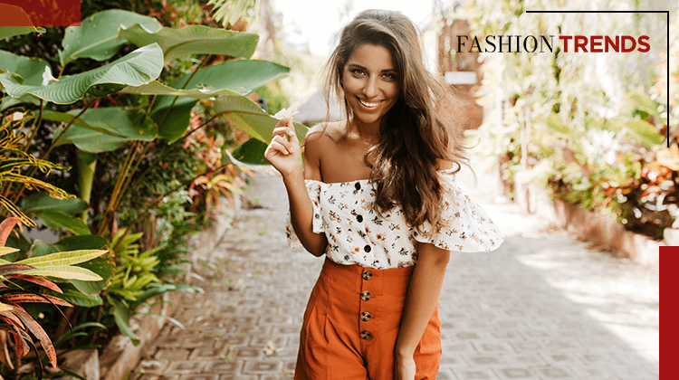 Fashion Trends - Blumenprints - Banner